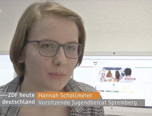 Jugendbeirat Spremberg im ZDF